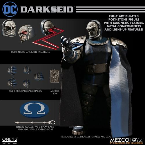 *** Pre-Order *** Mezco One:12 Collective DC Comics Darkseid Figure Pay Monthly
